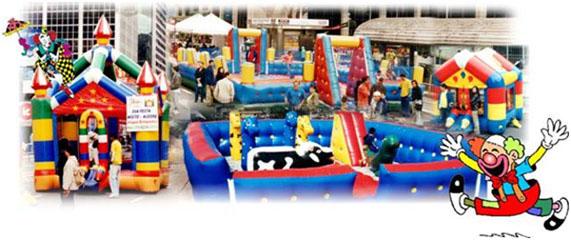 Brinquedos para parques, buffets e áreas de lazer